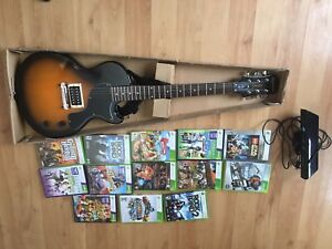 Kinect for Xbox 360, Epiphone Kinect guitar and games