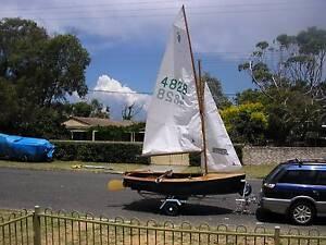 "Heron sailing dinghy ""Didgeridoo""   (SALE PENDING) Blakehurst Kogarah Area Preview"