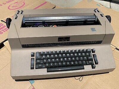 Vintage Ibm Selectric Ii 2 Correcting Typewrite Beige Works