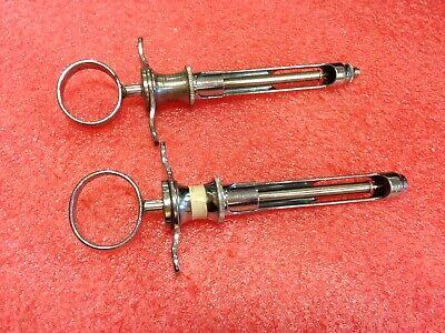 2pcs Carpule Cook Waite Stainless Steel Syringe Aspirator 47