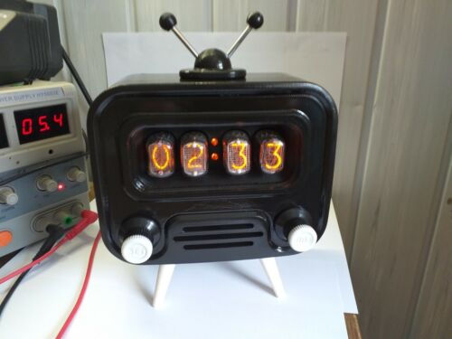 🕗  Nixie Tube Clock IN-12.🎁 Best gift.🎁 Full complect !