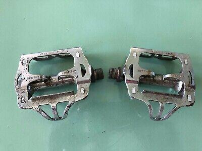 """White Road Mountain Bike Steel Cage Pédales 9//16/"""" Cruiser 9//16 Pédale Fixie Vélo Pédale"""