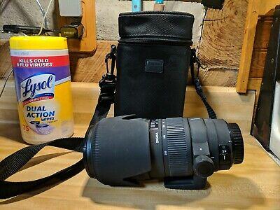 Sigma AF 70-200mm F/2.8 EX DG APO MACRO HSM Lens for Canon w/case