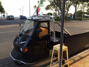 2016 Piaggio Ape Trike Scooter Scarness Fraser Coast Preview
