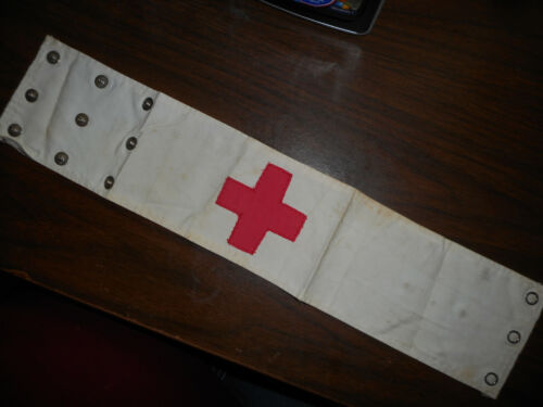 Vintage American Red Cross Arm Band
