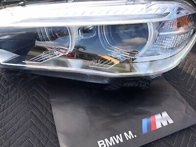 2014 2015 2016 2017 2018 BMW X5 F15 LH Headlight XENON HID OEM MINT 63117317109