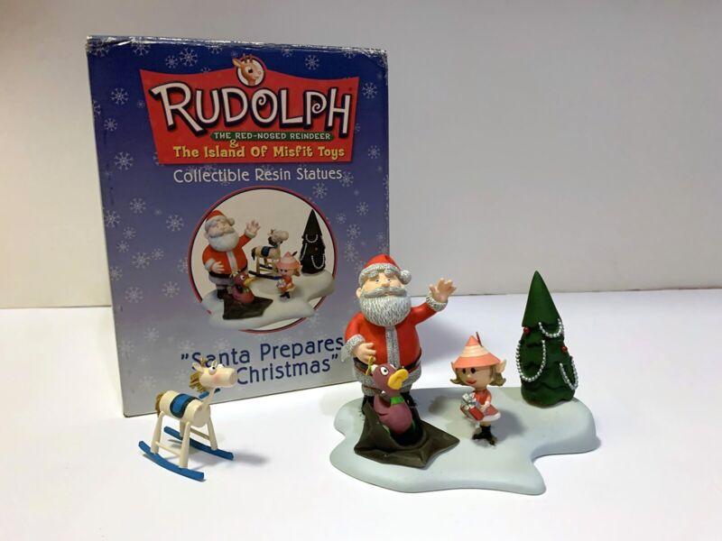 Rudolph The Island of Misfit Toys – Santa Prepares for Christmas Resin Diorama