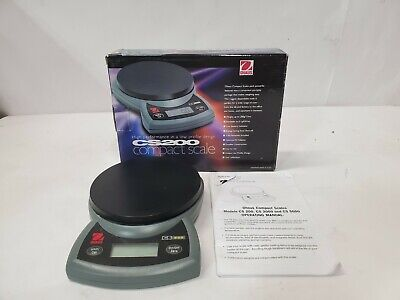 Ohaus Cs200 200g .1g Digital Scale Grams And Ounces Used Tested And Working