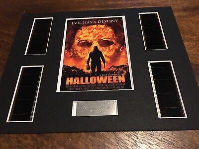 Halloween - Rob Zombie - 35 mm Film Cell Mount Presentation Movie Display