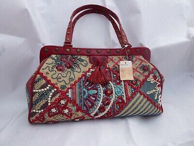 Isabella Fiore Patchwork Handbag