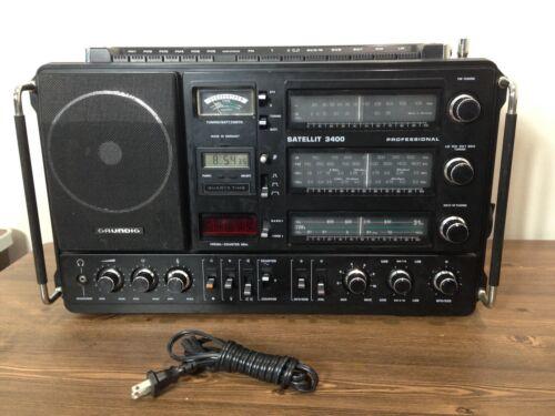 GRUNDIG Satellit 3400  Professional Multi Band Receiver(black), Excellent.