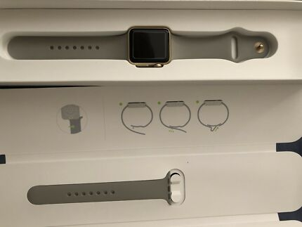 iWatch Series 1 Gold Perfect And Complete 32MM