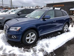 2015 Audi Q5 3.0T Progressive, Navi, Leather, Pan. Sunroof, AWD