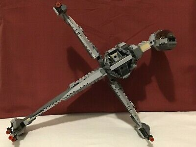 Lego Star Wars B-Wing Fighter - Model 6208 (2006) manual + 2 mini figs included