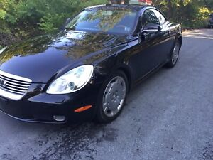 In Mint Condition: 2003 Lexus SC 430 Hard Top Convertible