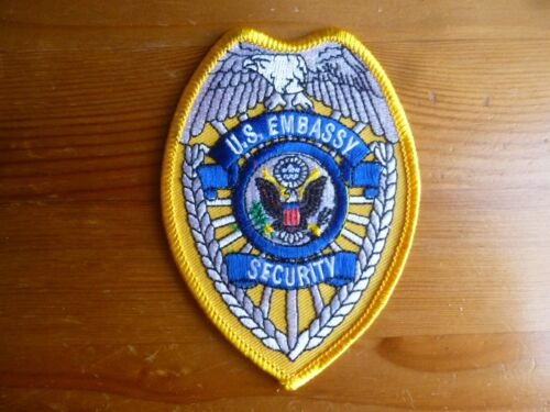 US Embassy Security patch USA Emblem Shield Officer sheriff police