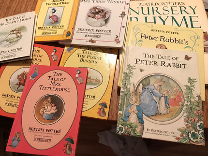 PETER RABBIT by Beatrix Potter (9 books) collectables