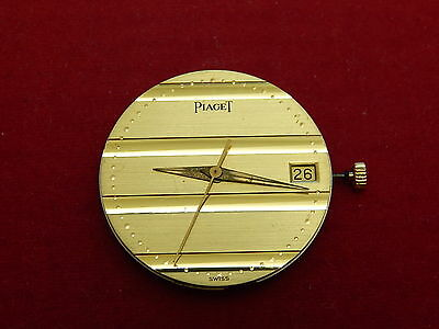 100% GENUINE PIAGET 1134P QUARTZ MOVEMENT RUNNING WITH POLO DATE DIAL