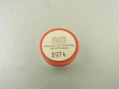 IWC Unruh Unruhe Schraubenunruh für Kaliber 89 part 8974 balance wheel original