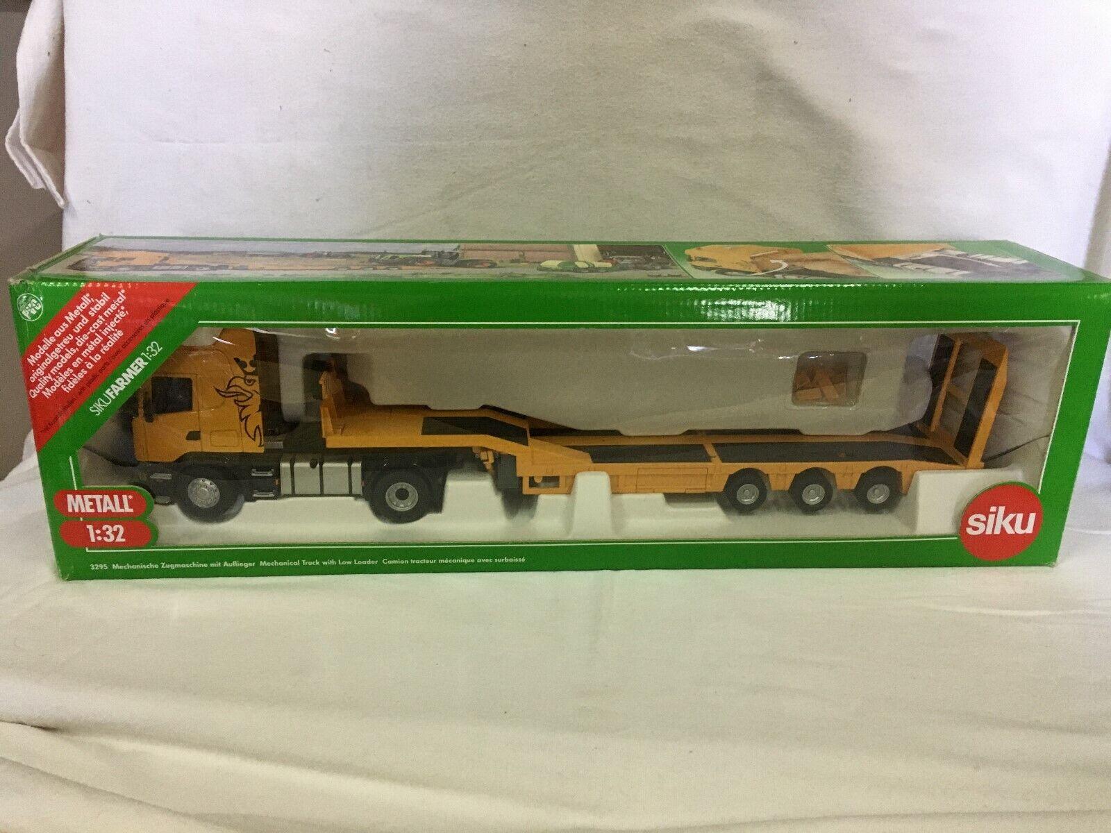 1//32 Neu ohne  OVP 3295 Scania gelb kompatibel Siku control