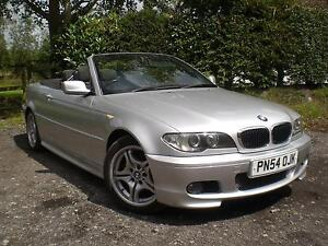 2004 54 REG BMW 318 2.0 CI SPORT CONVERTIBLE WITH HARD TOP ONLY 61k