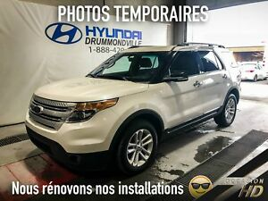 Ford Explorer XLT + AWD + PANO + NAVI + 18'' + BLUETOOTH + CUIR