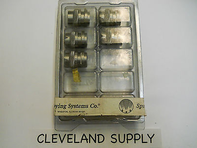 Spraying Systems Qu-ss 80 50 Stainless Spray Nozzles Set Of 5 New In Package
