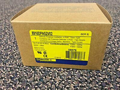 8910dpa52v02 Square D Definite Purpose Contactor Brand New In Box