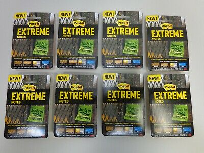 Post It Extreme Notes Lot Of 8 Packages