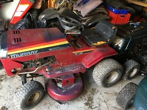 12hp Murray lawn tractor