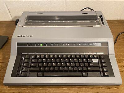 Swintec 4000 Electronic Typewriter Used