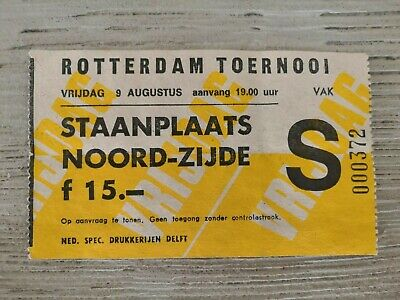Ticket KV Mechelen - Dinamo Bucharest / Galatasaray - Feyenoord 09/08/1991