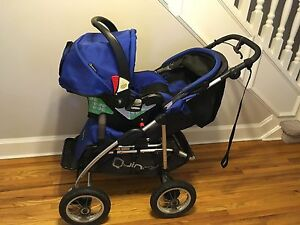 QUINNY FREESTYLE 4XL STROLLER / INFANT CARSEAT TRAVEL SYSTEM