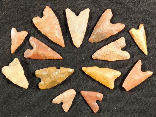 A Big Lot of Ancient North African Tidikelt Arrowhead s 4.32