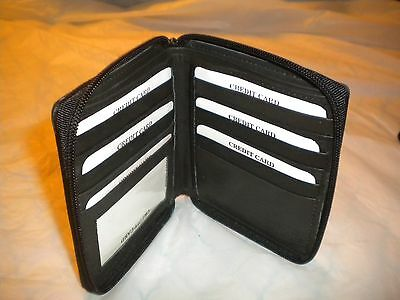 genuineleatherblack bifold big large tall wallet