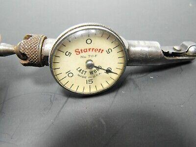 Starrett Last Word Dial Indicator No. 711-f .001
