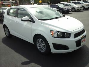 2016 CHEVROLET SONIC LT AUTO- REAR VIEW CAMERA, HEATED REAR SEAT