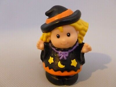 Fisher Price Little People Sarah Lynn Witch Halloween Girl Trick or Treat