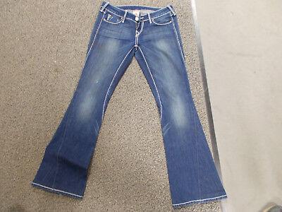 TRUE RELIGION Damenjeans 29 30 Jeans Damen Herren skinny Bootcut edel luxus Hose (Herren True Religion Skinny Jeans)