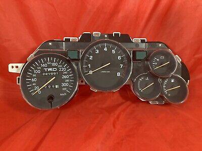 JDM TOYOTA SUPRA JZA80 TRD 320km/h Speedometer Cluster Gauge Manual Dials