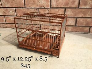 Guyanese Hand-made Bird Cages $45-$125