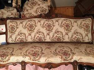 Antique Formal Sofa Plus 2 Matching Chairs Albert Park Port Phillip Preview
