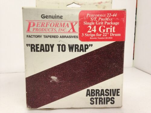Performax Factory Tapered Abrasive 24grit 60-1180