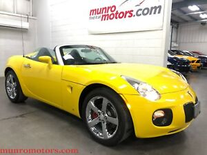 2007 Pontiac Solstice GXP One Owner Only 30 k kms