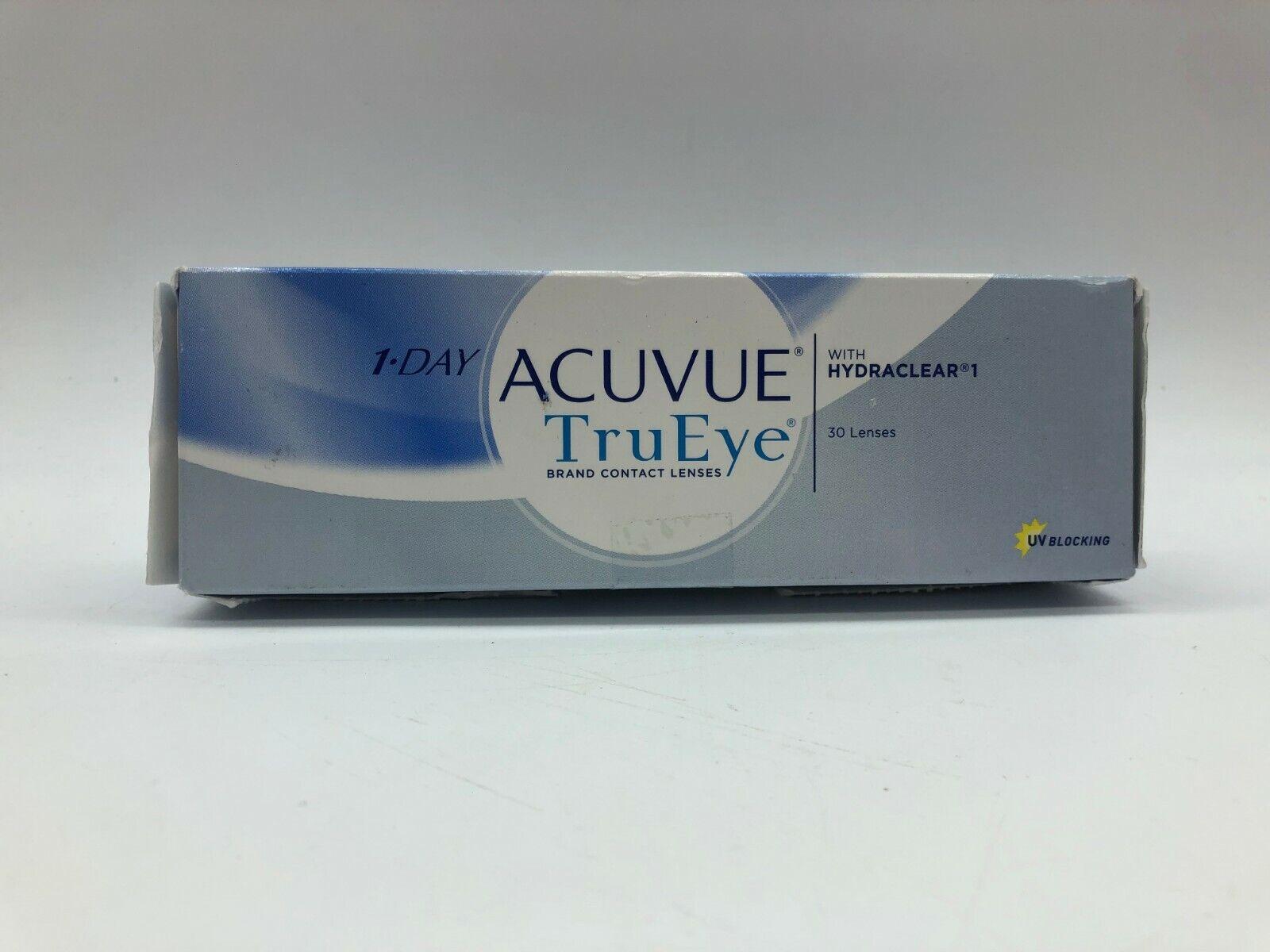 Acuvue 1-Day TruEye Tageslinsen weich, 20 Stück Kontaktlinsen PD21.41