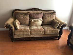 3 pieces couch set