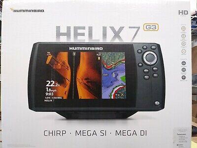 Humminbird Helix 7 G3 Mega SI Mega DI/ GPS Head Unit Only #410950-1CHO