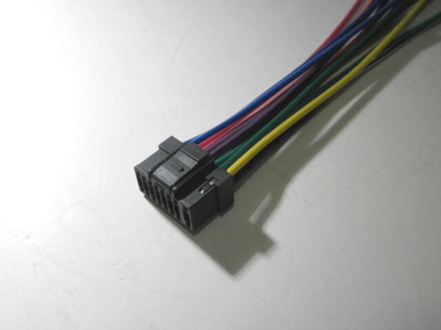 alpine cda 9851 cd player in dash receiver ebay alpine cda 9851 wiring diagram at Alpine Cda 9851 Wiring Harness