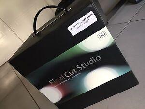 Final Cut Pro Studio manuals, program disc's and serial # Cecil Hills Liverpool Area Preview