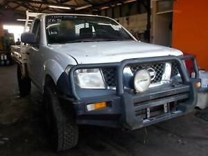 WRECKING 2009 NISSAN NAVARA SINGLE CAB D40 2.5L DIESEL MNT VIN North St Marys Penrith Area Preview